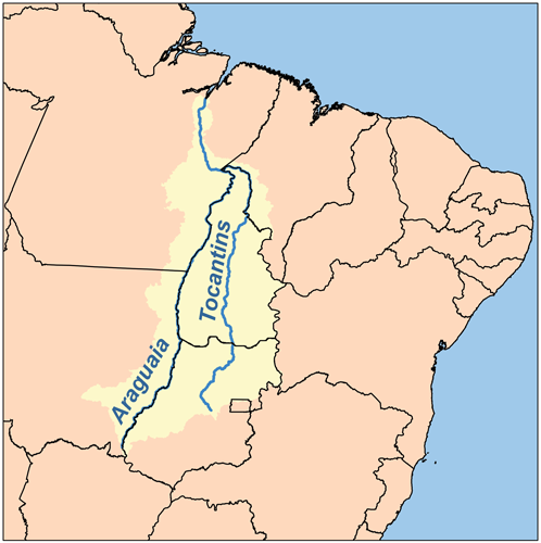 Tocantins watershed